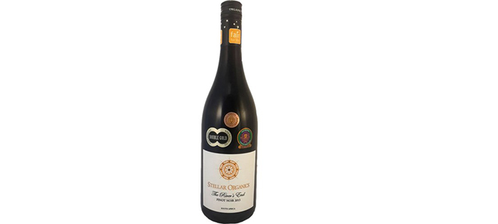 Stellar Winery Wins Diamond Award for first organic Pinot Noir in South Africa